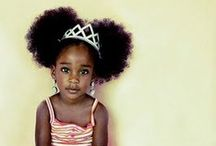 HAIR: Natural Tots / .:: Natural Hairstyle Inspiration for Kids & Toddlers ::. / by Marie Kyle