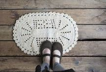 crocheted / by Fine Little Day