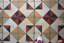 floor & tiles / by Fine Little Day