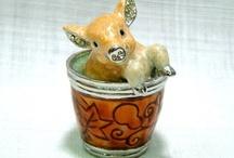 Piggy Jewelry ~ Trinket Box