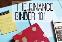 """.finances / """"because every chick needs to be financially savvy""""   personal finance   budget   money   saving   frugal   baby steps"""