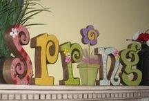 .seasonal [spring] / seasonal living   spring   home decor   DIY