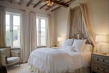 Master Bed & Bath / romantic with shabby chic touches / by Lynn Sheppard