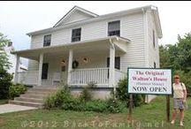 Walton's Mountain- Schuyler, VIrginia / The real Walton's Mountain is in Schuyler Virginia where Earl Hamner grew up.