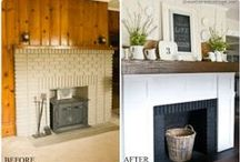 Before & After / inspiring ideas // taking things from drab to fab / by Lynn Sheppard