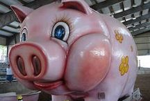 Piggy Outdoor Statue