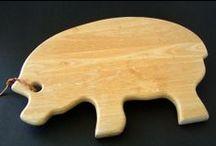 Piggy Kitchen ~ Cutting Board
