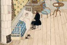 Josabeth Sjöberg / Josabeth Fredrica Paulina Sjöberg, Swedish artist, 1812–1882