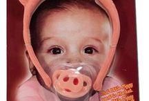 Piggy Baby ~ Pacifier + Clip