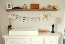 Boy Nursery / rustic whimsical // wood.patterns.textures.light.airy. / by Lynn Sheppard
