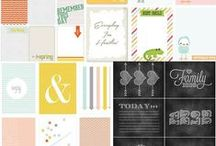 .diy [project life] / project life   cards   tools   information   tips   ideas   free   printables