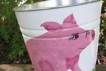 Piggy Container ~ Pail
