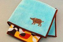 Piggy Hand Towel & Handkerchief