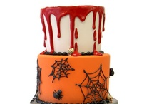 Halloween Cakes / Ghoulish Halloween cakes for all sorts of occasions including weddings, birthdays and more!  See more cakes at www.pinkcakebox.com / by Pink Cake Box