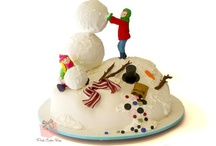 Winter & Christmas Cakes / by Pink Cake Box