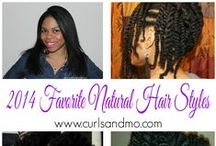 Natural Hair / A board dedicated to natural hair in all forms.