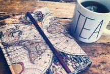 Tea & Happiness / Tea, Books, Happiness.  / by Elizabeth Perreault