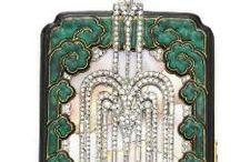 Vanity Cases - ART DECO Boîte de beauté