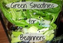 Green Smoothies / #greensmoothies #vegan #vegeterian #healthyliving
