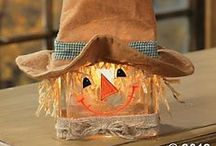 Thanksgiving/Fall Crafts / by Tina Morrison