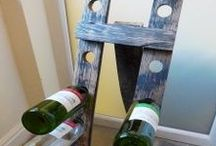 Upcycled Wine Racks / A selection of our bespoke wine racks made through upcycling old materials by our team at Period Home Style. We can work with you to make your perfect, bespoke piece to compliment your home.