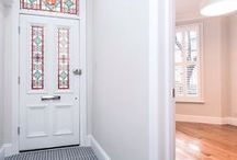 Traditional Stained Glass Doors / A beautiful selection of Traditionally styled doors & Stained glass completed by Period Home Style. Work can be commissioned and we can work with you to adapt the colour, style, etc. to suit your home decor needs. A beautiful front door complete with stained glass can really boost the appearance of a whole house.