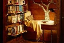 Books and Books and more Books... / I've lived many lives through my lovely books.. / by Postcards To The Universe