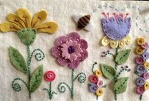 Felt flowers and ??? / by Julie Slater