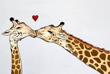 Giraffes / by Lacy Goode