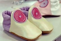 Baby Moccasins / Great first walking shoes that allow tiny feet to develop naturally.