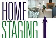 home staging...getting ready to sell / ideas to kick it up a notch for home decor / by Teresa Nye