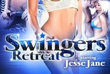 The Swingers Retreat / Featured performers:Brooklyn Lee, Capri Cavanni, Chastity Lynn & Jesse Jane®  / by Digital Playground