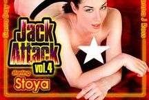 Jack Attack 4 / Featured performers: #Christie Stevens, #JennaJRoss #ChristieStevens & #Stoya  / by Digital Playground