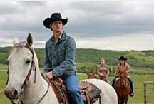 Our Heartland Updates / Heartland is a Canadian family drama television series which debuted on CBC on October 14, 2007. The series is loosely based on the Heartland books by Lauren Brooke. The TV series changes the setting from Virginia, USA (in the original novels) to the Alberta Rockies in Alberta, Canada.  I have made a blog for the pictures and updates if you have missed the show come and check it out all here at http://ourheartlandupdates.blogspot.com/ / by Amanda Silverio