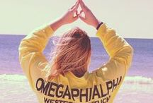 Omega Phi Alpha / by Mary Beth Wilk