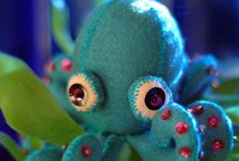 Felt sea creatures and ??? / by Julie Slater