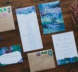 invitations / invitation and stationery inspiration
