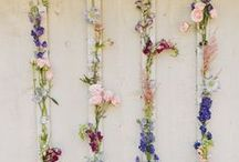 floral installations / floral design, large scale installations