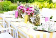 Parties / Tips and ideas for fabulous parties! Recipes / party decorations / party games