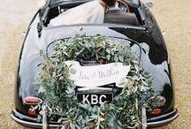 getaway car / wedding day transportation
