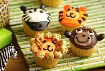 Jungle Safari Party / Kids jungle or safari themed party with recipes, decorations, party favors, entertainment and other safari oriented party ideas