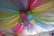 Colorful Party Ideas / kids party and kid party ideas for parties that are colorful and incorporate rainbow images