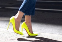 { neon yellow } / by Courtney Caruso