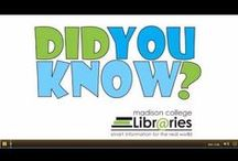 Did you Know? videos / A series of short videos created by Madison Area Technical College librarians / by Madison College Libraries