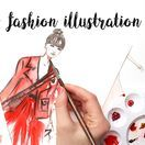 Fashion Illustration / Fashion Illustrations, fashion sketches, street style illustrations