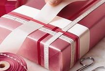 Gift wrapping / Gift wrapping ideas, gift packaging, wrapping ideas
