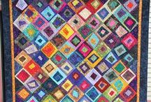 Inspired by batiks / Patterns and ideas we love for using batiks / by Fabri-Quilt, Inc.