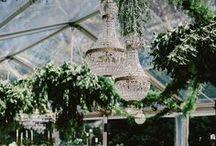 tent decor / tented wedding receptions