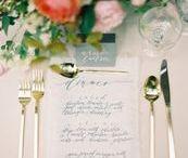 dinner menus / menu inspiration