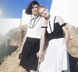 Spring Summer 2016 Campaign / This season Anne Fontaine's collection gets its inspiration from nature, a very important theme for Anne who shows her love for environment since her beginning. Mother Nature is presented through subtle ethnic themes such as : delicate braiding, sunburst pleating, safari jacket styles, and tribal style embroidery.